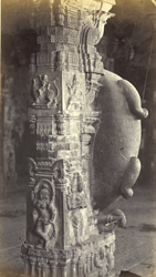 Peroor Temple, near Coimbatore. Reverse side of pillar No 413